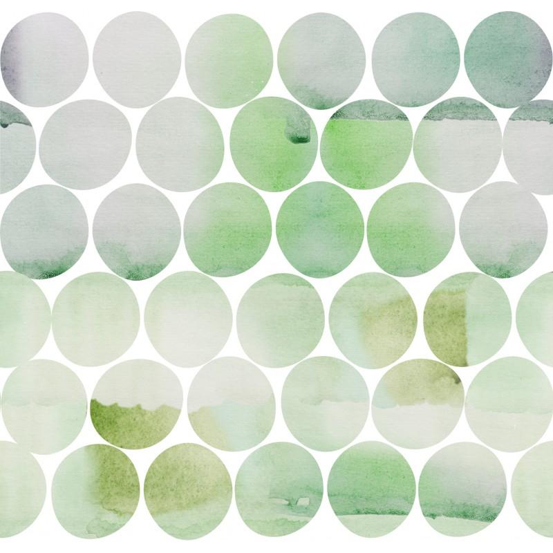 Дизайнерские обои Greenery circles