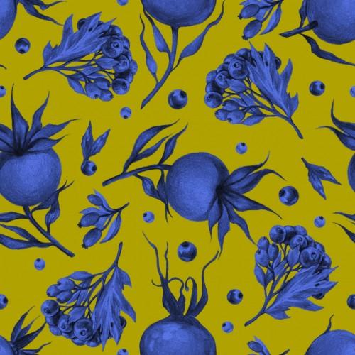 Designer wallpapers Patriot berry