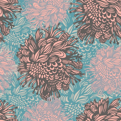 Designer wallpapers Pink Flowers