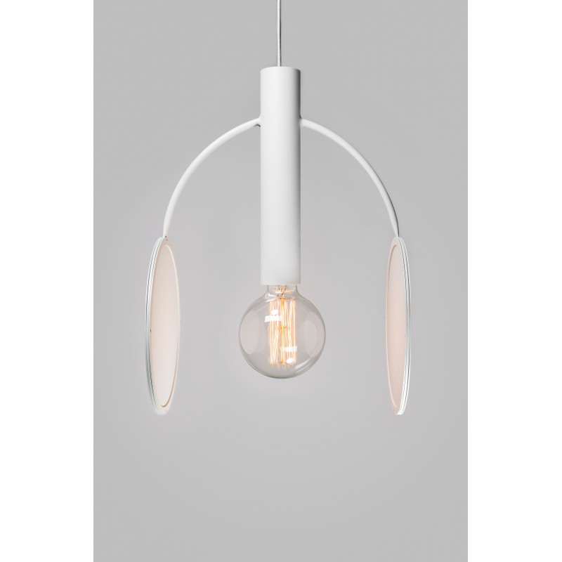 Double Moon White pendant lamp