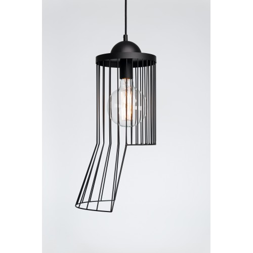 Rhythm Black pendant lamp