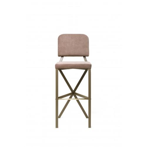 "Барный стул ""X"" (Beige)"