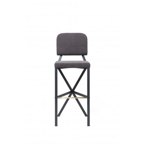 "Барный стул ""X"" (Grey)"
