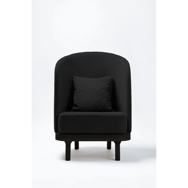 Лаунж кресло Cozy Leaf (Black)