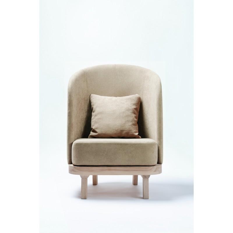 Лаунж кресло Cozy Leaf (Caramel)