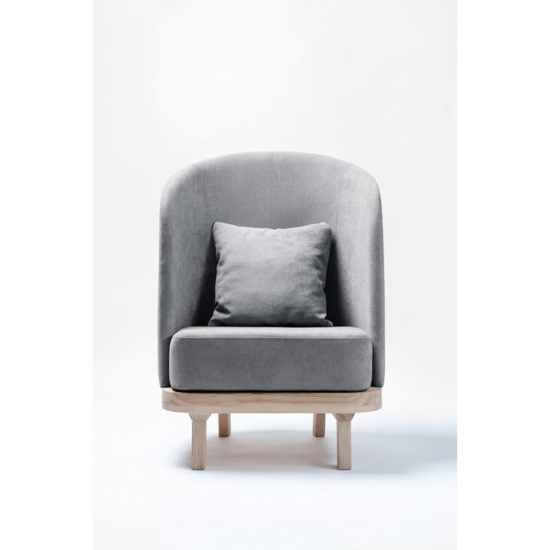 Лаунж кресло Cozy Leaf (Graphite)