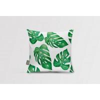 Декоративная подушка Monstera leaf