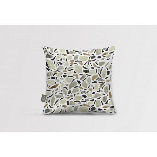 Декоративная подушка Terrazzo white