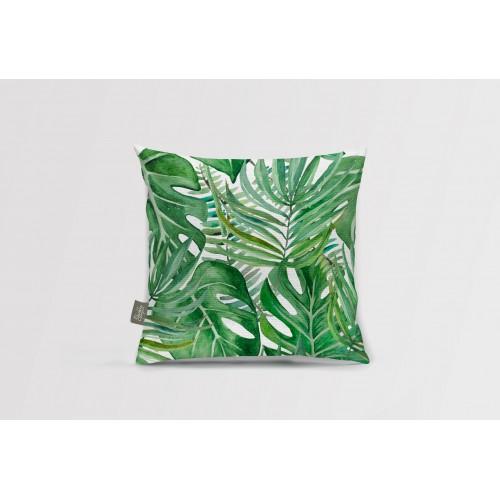 Декоративная подушка Tropical leaves