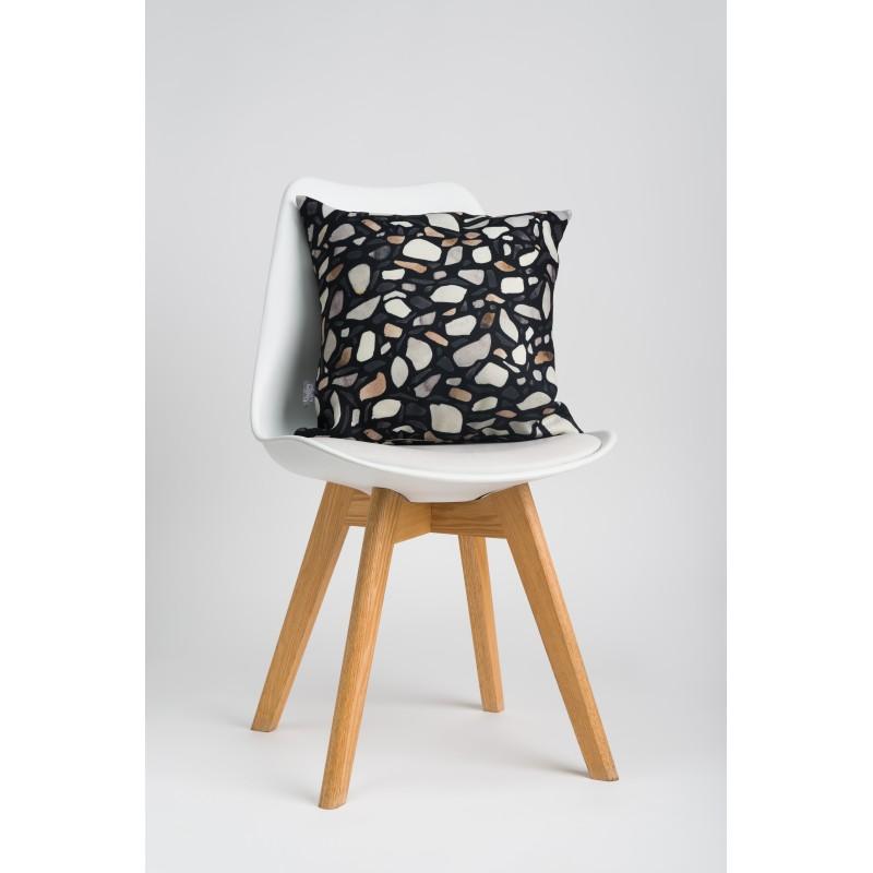 Декоративная подушка Terrazzo black