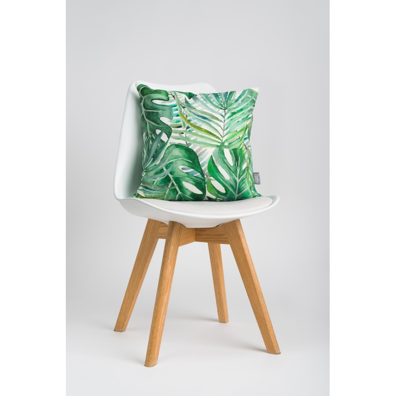 Throw pillow Tropical leaves