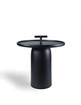 Керамический столик DNIPRO black