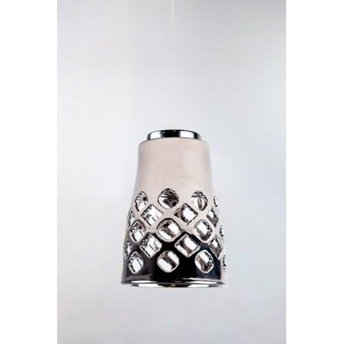 Керамический подвесной светильник CERAMIKA DESIGN AJUR ORH 17 chromium