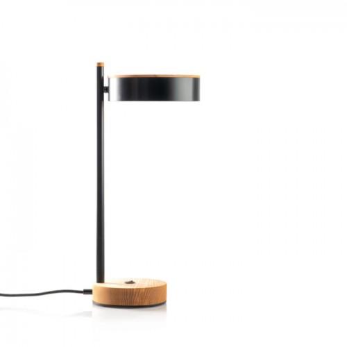 Настольная лампа черная Midcentury