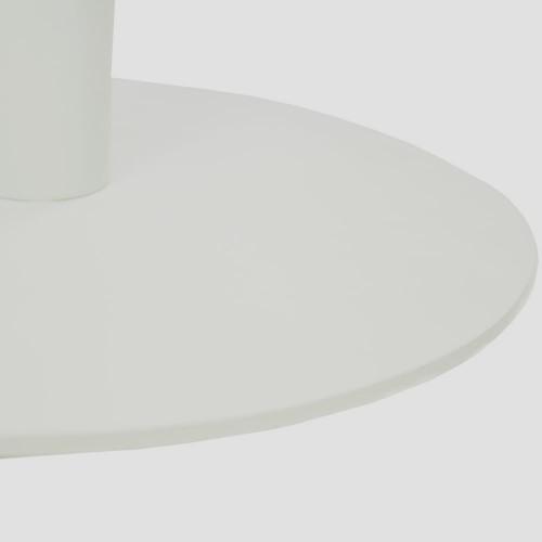 Стол Soul d-70 белый металл/дуб ДСП