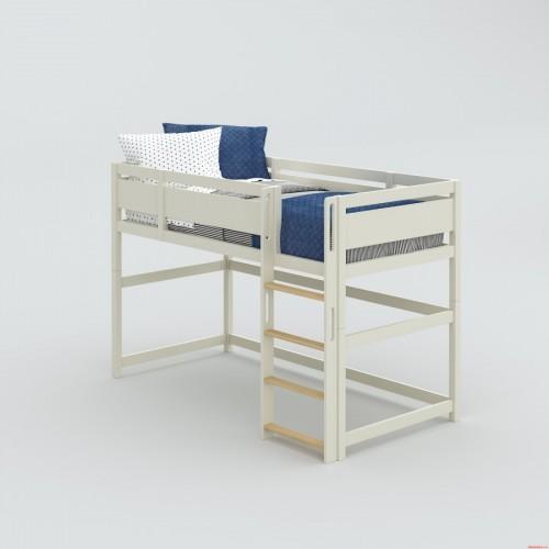 Кровать-чердак с игровой зоной Nest