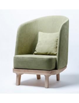 Лаунж кресло Cozy Leaf (Oasis)