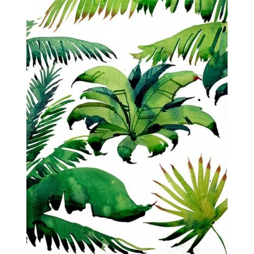 """Дизайнерские обои """"Palm leavs"""""""