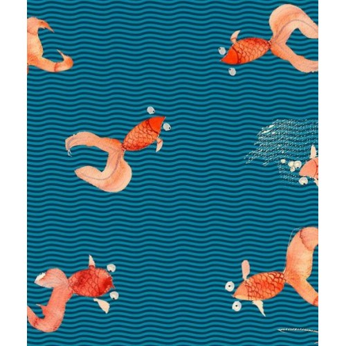 """Дизайнерские обои """"Red Fish"""""""