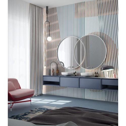 """Дизайнерские обои """" Векторный орнамент 03"""" / wallpaper bathroom"""