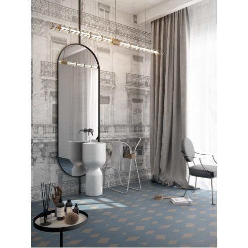 """Дизайнерские обои """" Paris"""" / wallpaper bathroom"""