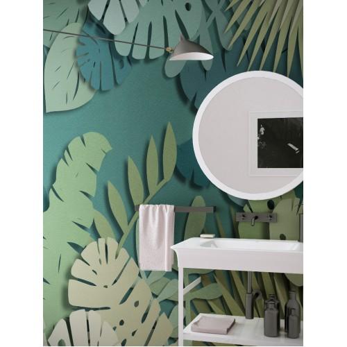 """Дизайнерские обои """" Аппликация"""" / wallpaper bathroom"""
