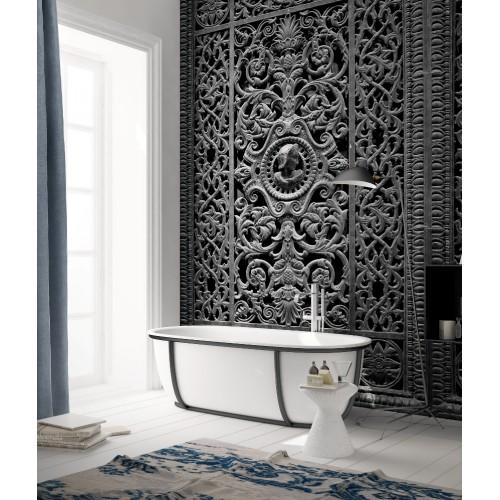 """Дизайнерские обои """" Чугунные ворота"""" / wallpaper bathroom"""