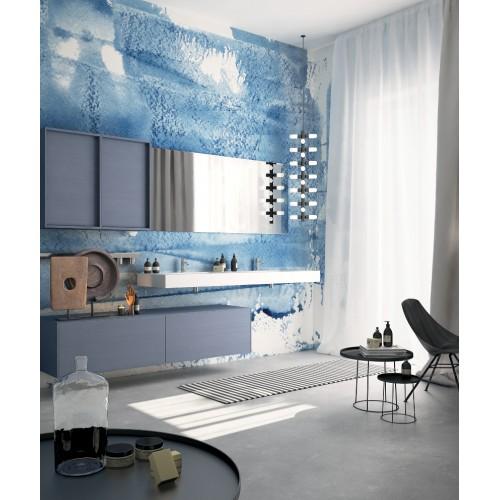 """Дизайнерские обои """"Акватипия"""" / wallpaper bathroom"""