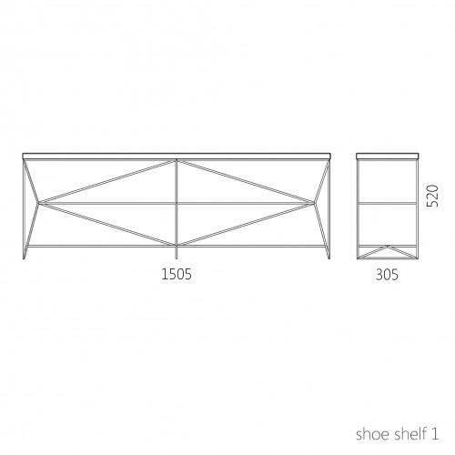 Полка Shoe Shelf