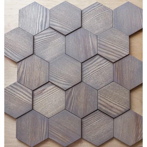 Деревянная мозаика для стен Boston