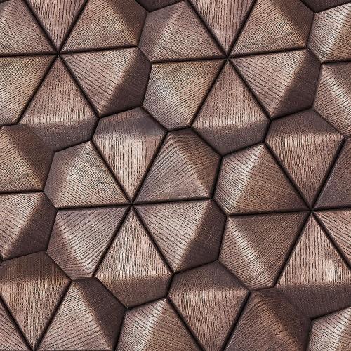 Деревянная мозаика для стен Denver