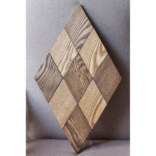 Деревянная мозаика для стен Illinois