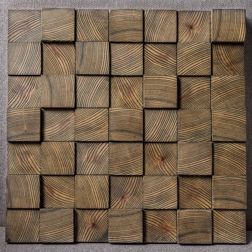 Деревянная мозаика для стен Nevada