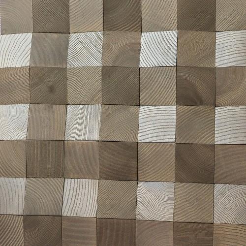 Деревянная мозаика для стен Oklahoma