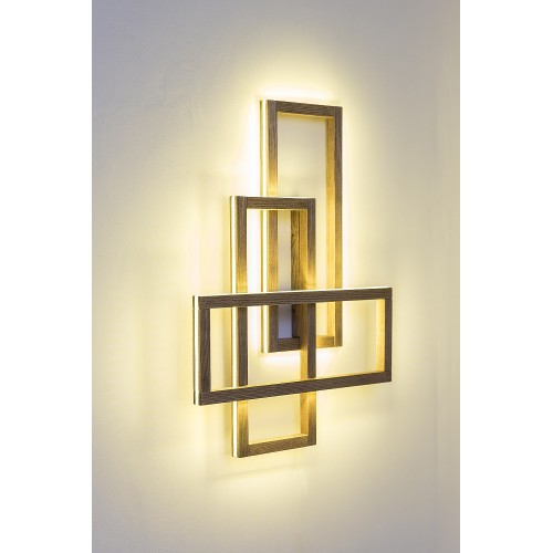 Деревянный светильник Trinity