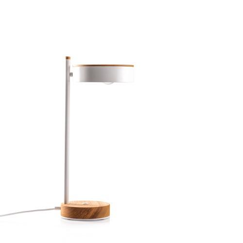Настольная лампа белая Midcentury